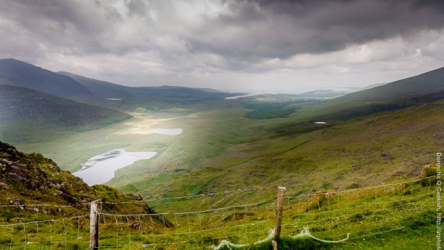 Dark Clouds over the Conor Pass