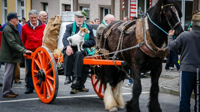 Blarney Men's Shed win best St. Patrick's Day Parade float