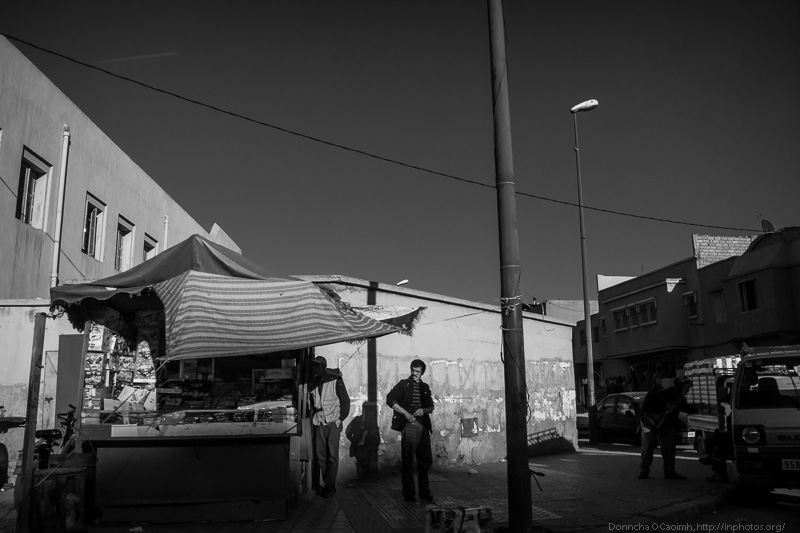 Moroccan Street Trader