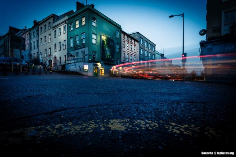 Light Trails on MacCurtain Street