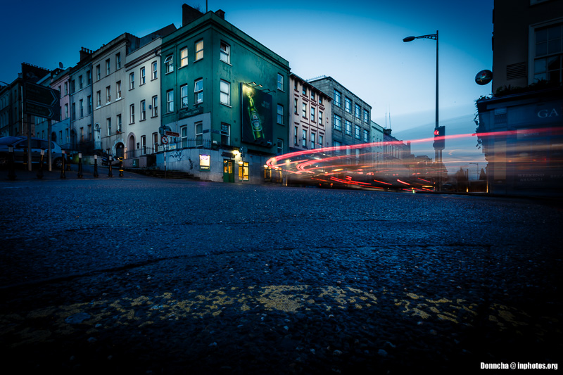 Light Trails on MacCurtain Street