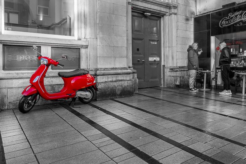 The Red Vespa
