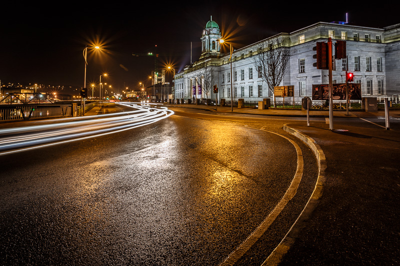 City Hall Light Trails