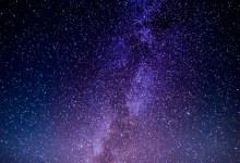 The Purple Milky Way