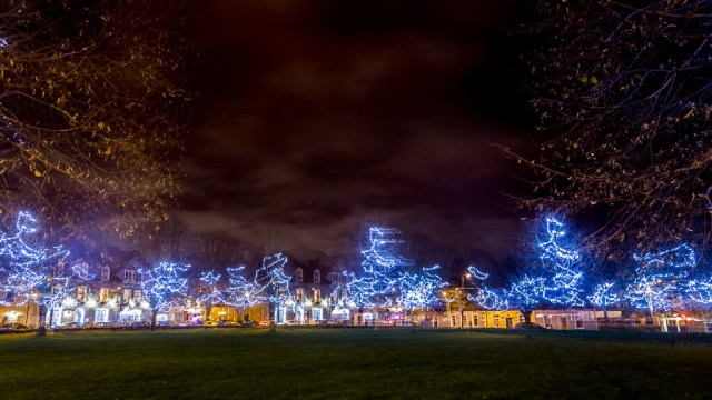 The Christmas Lights of Blarney