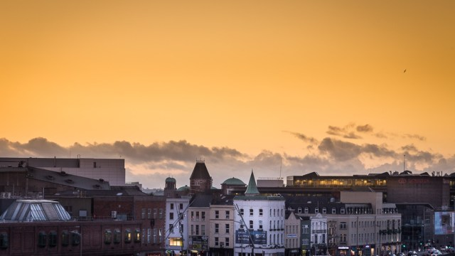 Cork City Sunset