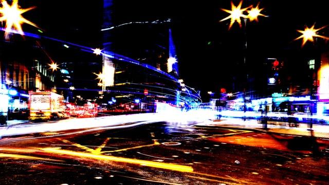 Street Lights by St Pancras International