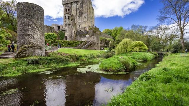 Blarney Castle in the Summer
