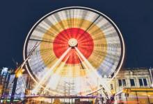 Ferris Wheel Speeding By