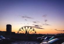 Ferris Wheel and Cars