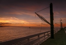 On The Pier at Santa Cruz