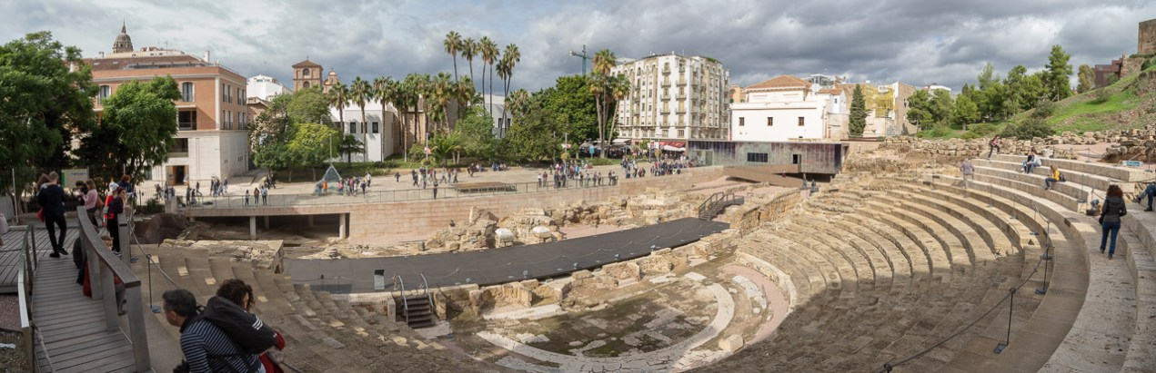 The Roman Theatre in Malaga