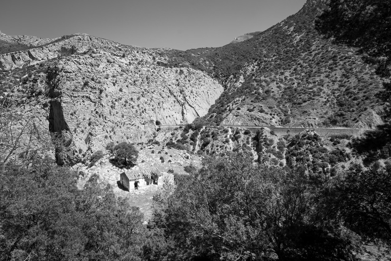 Abandoned Family Home in El Chorro National Park