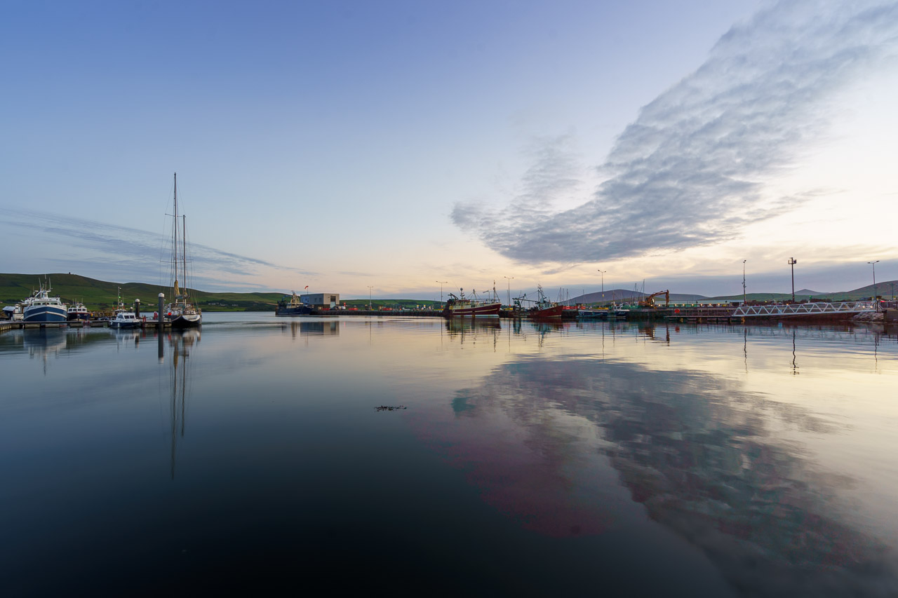 The Still Waters of Dingle Harbour