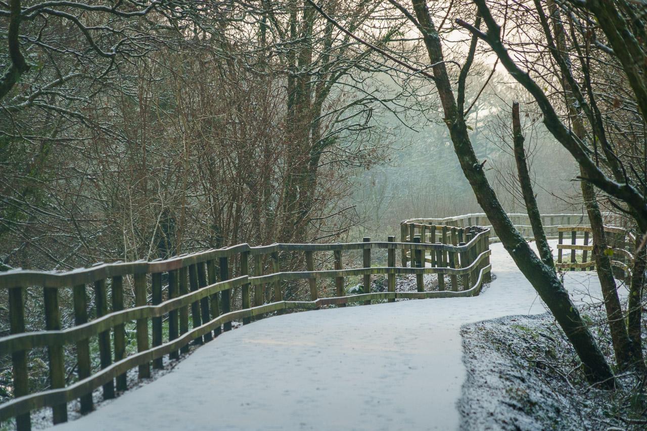 Light Snow in Blarney