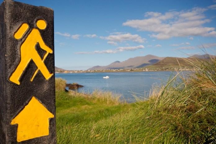 Yellow Walking Man