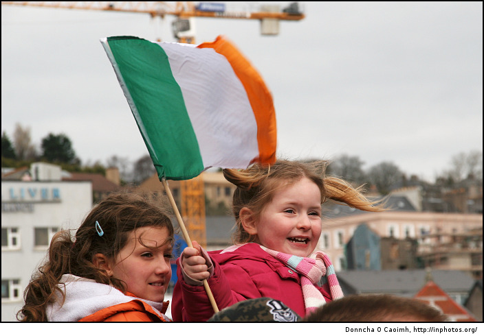 St. Patrick's Day is for the kids