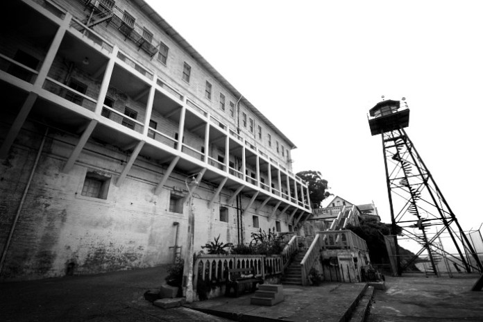 Alcatraz Tower and Prison