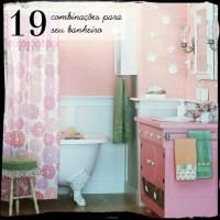 19 Combinações para seu banheiro!