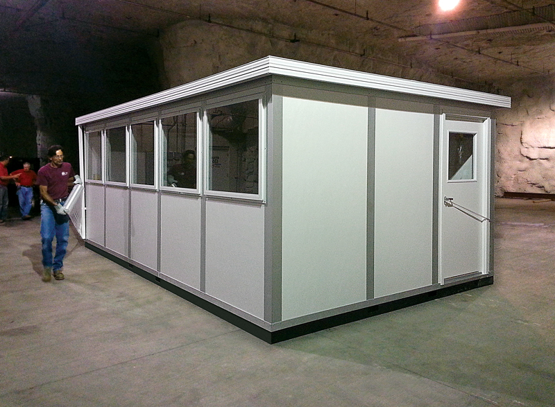 InPlant's Indoor Greenhouse — Modular Grow Rooms, Offices