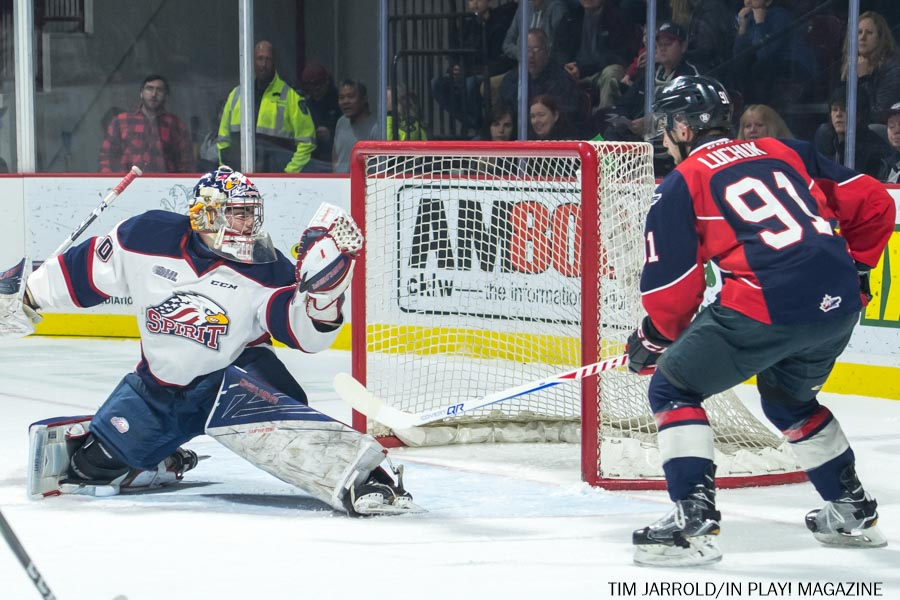 Windsor Spitfires vs Saginaw Spirit February 23 PIX