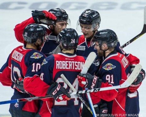 Spitfires vs Saginaw Spirit 12