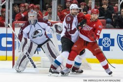 Red Wings vs Colorado Avalanche - PIX Saturday March 18, 2017