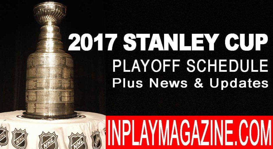 Stanley Cup Playoff News April 13, Stanley Cup Playoff Update April 14, Stanley Cup Playoff Recap April 15, STANLEY CUP PLAYOFF NEWS APRIL 18, STANLEY CUP RECAP APRIL 19, STANLEY CUP RECAP APRIL 20 2017, STANLEY CUP PLAYOFF RECAP APRIL 21 2017 - OT AGAIN!, STANLEY CUP PLAYOFF RECAP APRIL 22 2017 - SHARKS, WILD, HABS OUT!, STANLEY CUP PLAYOFF RECAP APRIL 23 2017, STANLEY CUP RECAP APRIL 26 2017 - SECOND ROUND BEGINS, STANLEY CUP PLAYOFF RECAP APRIL 27 2017 - PENS AND SENS WIN, STANLEY CUP PLAYOFF RECAP APRIL 28, STANLEY CUP PLAYOFFS RECAP APRIL 29 2017 + NHL DRAFT LOTTERY RESULTS, STANLEY CUP PLAYOFF RECAP APRIL 30, STANLEY CUP PLAYOFF RECAP MAY 01 2017 - CAPS WIN, CROSBY INJURED, STANLEY CUP PLAYOFF RECAP MAY 2 2017 RADIO CITY AND MUSIC CITY WIN, STANLEY CUP PLAYOFF RECAP MAY 3, STANLEY CUP PLAYOFF RECAP MAY 4, STANLEY CUP PLAYOFF RECAP MAY 5 2017 - DUCKS SCORE 3 IN 4, STANLEY CUP PLAYOFF RECAP MAY 6 2017, STANLEY CUP PLAYOFF RECAP MAY 7, STANLEY CUP PLAYOFFS RECAP MAY 8 2017 - GAME 7 DOUBLE HEADER, STANLEY CUP RECAP MAY 9 2017, STANLEY CUP PLAYOFF RESULTS MAY 10 2017, STANLEY CUP PLAYOFF MAY 12 2017 RECAP, STANLEY CUP PLAYOFF RECAP MAY 13 2017 , STANLEY CUP PLAYOFF RECAP MAY 15 2017, STANLEY CUP PLAYOFF RECAP MAY 16 2017, STANLEY CUP PLAYOFF RECAP MAY 17 2017, STANLEY CUP PLAYOFF RECAP MAY 20 2017, STANLEY CUP PLAYOFF RECAP MAY 21 2017, STANLEY CUP PLAYOFF RECAP MAY 22 2017, STANLEY CUP PLAYOFF RECAP MAY 23 2017, STANLEY CUP PLAYOFF RECAP MAY 24 2017