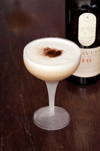 Lagavulin liquorice whisky sour