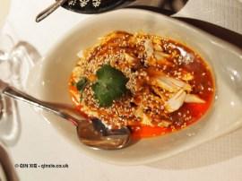 Bang Bang chicken at Empress of Sichuan
