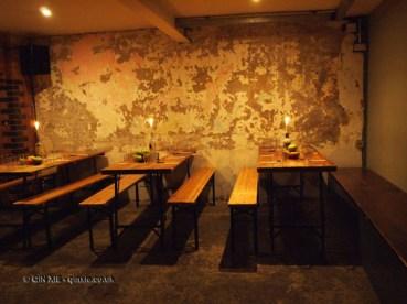 The tasting room at Magners cider tasting