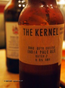 The Kernel's Suku Quto Coffee India pale ale at Charles Lamb