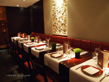Inside Patara, Greek Street, London
