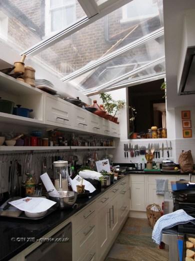 Ann Colquhoun's kitchen at Fish in a Day, Food Safari