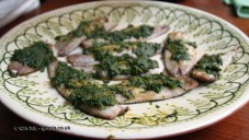Sardines and chermoula at Fish in a Day, Food Safari