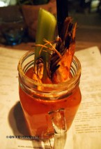 Bloody Caesar at The Refinery Bar