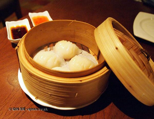 Prawn har gao at Chinese Cricket Club
