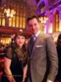 Emanuele Barrasso with Rachel Khoo at the World's 50 Best Restaurants 2012