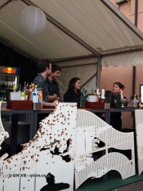 Courvoisier bar, British night, Global Feast 2012