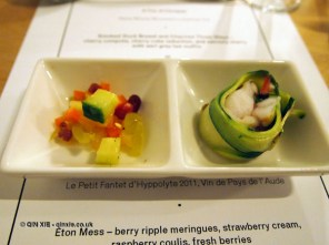 Monk fish tail canapes, Jimmy's Supper Club at Annex East