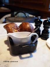 Yorkshire pudding, Gillray's Steakhouse, Marriott County Hall