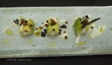 Avocado and king crab roll with yuzu kosho mayo, olive oil and yuzu juice, Wabi, Holborn