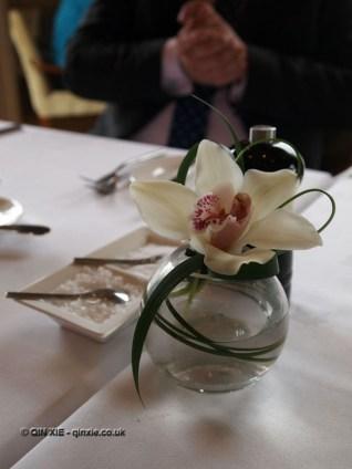 Flower arrangement, Humphry's, Stoke Park, Buckinghamshire