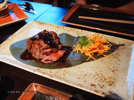 Beef fillet, Buddha Bar, London