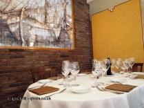 Dining table, Ristorante Beccaceci, Abruzzo