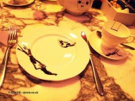 Plate setting, Mad Hatters Tea Party, Sanderson