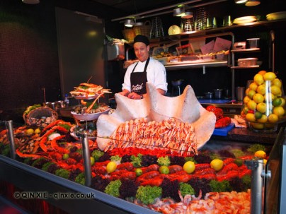 Seafood counter, Catch by Simonis, The Hague