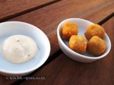 Parmesan custard, Ormer by Shaun Rankin, Jersey