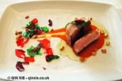 Whit tuna with garlic petals, Arzak, San Sebastian