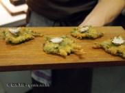 Fried leaves, Mugaritz, Errenteria